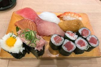 大阪弁天町ORC200内にあるお寿司屋さん「新竹」のランチが最高