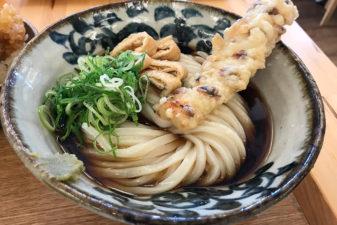 大阪弁天町「築港麺工房」はレトロ感溢れる建物で美味しいうどんが食べれる